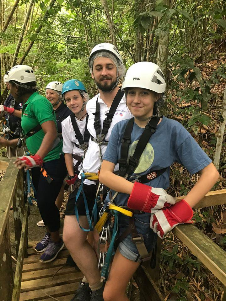 World ARC 20/21 participants enjoy a day zip-lining through the Saint Lucian rainforest photo copyright World Cruising taken at