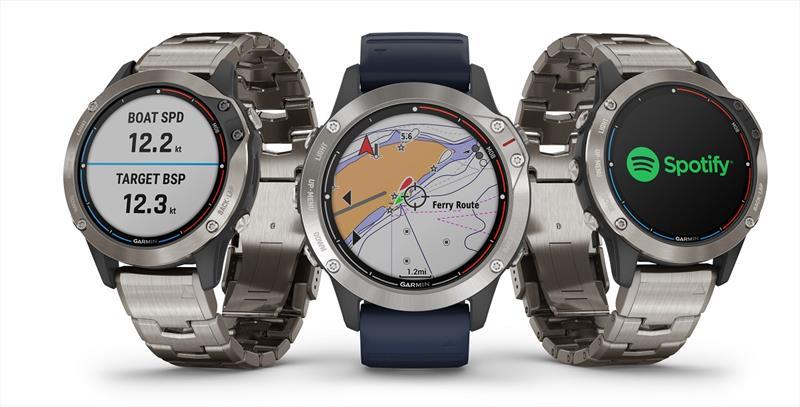 Garmin® quatix® 6 marine GPS smartwatch series - photo © Kathryn Morrell