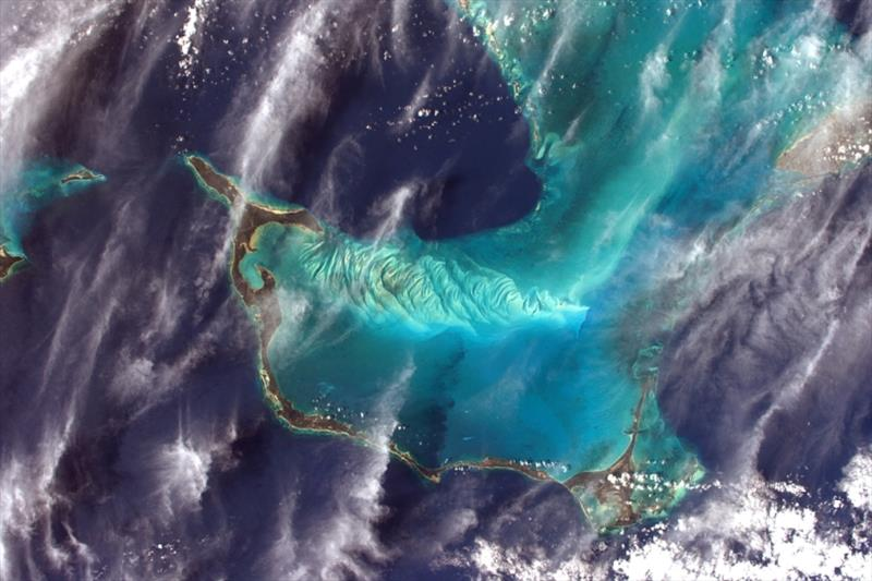 The Bahamas seen from the International Space Station during the Proxima mission - photo © ESA / NASA