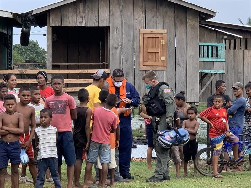 The Coast Guard is supporting humanitarian assistance and disaster relief operations across Honduras after Hurricane Eta affected the country - photo © U.S. Coast Guard