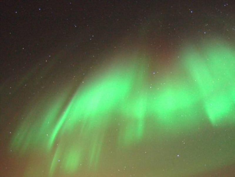 Aurora Borealis in the Northwest Passage photo copyright Jimmy Cornell taken at