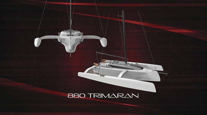 The new Corsair 880 - photo © Corsair