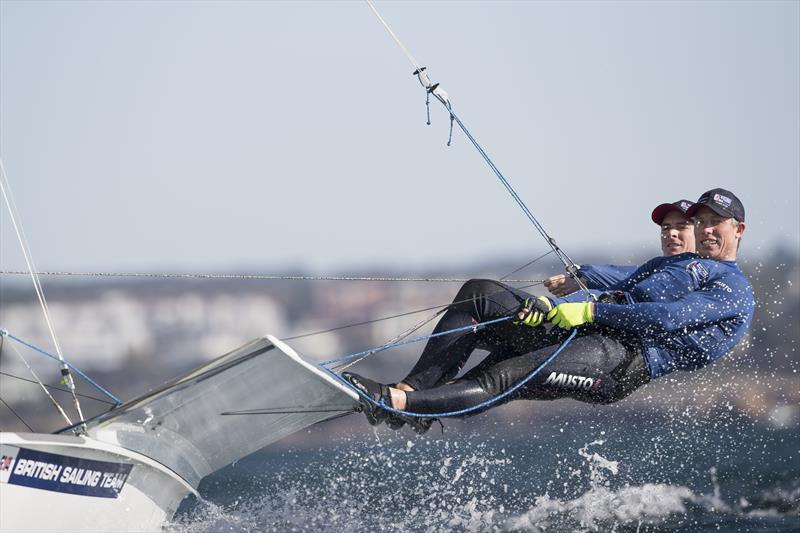 British Sailing Team - Dylan Fletcher and Stu Bithell - photo © Mark Lloyd / Lloyd Images