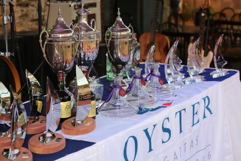 Oyster Regatta Antigua 2016 prize giving - photo © Oyster Yachts / Tim Wright / www.photoaction.com