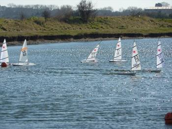 Medway RC Laser Winter Series - Day 10