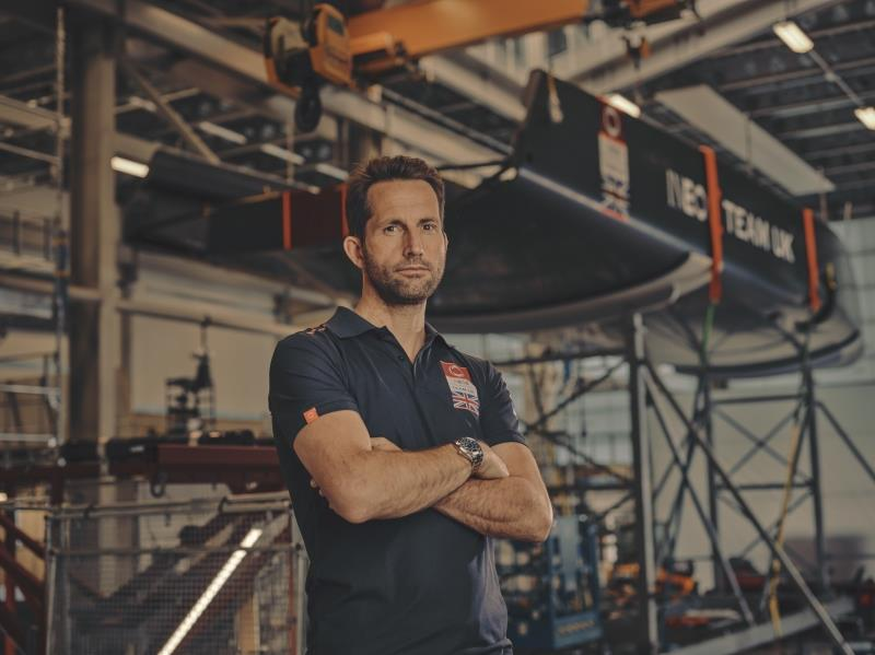 Olympic gold Medallist Ben Ainslie will be sharing his own experiences of lockdown and how America's Cup contender INEOS Team UK has bounced back photo copyright INEOS Team UK taken at  and featuring the  class