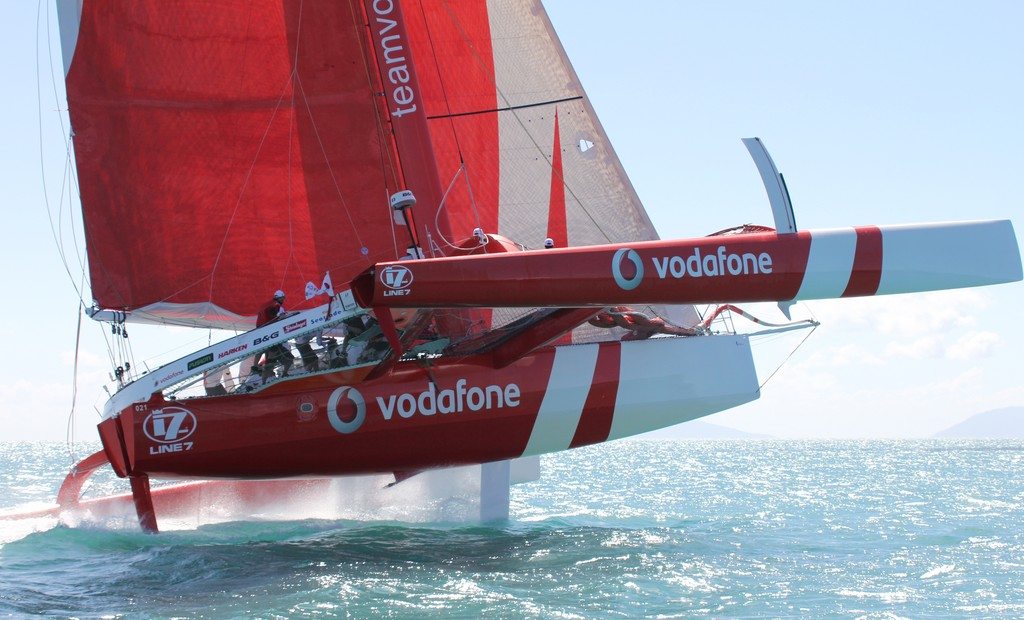 Clash of the Titans at Telcoinabox Airlie Beach Race Week