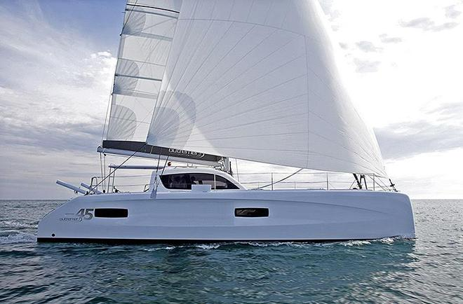 Aussie Couple 'jags' Outremer catamaran for YouTube Videos