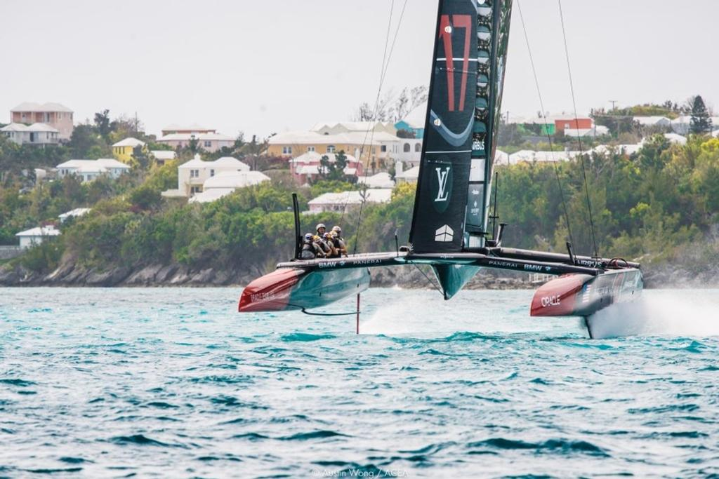 Oracle Team USA - Practice Session 3 © Austin Wong | ACEA
