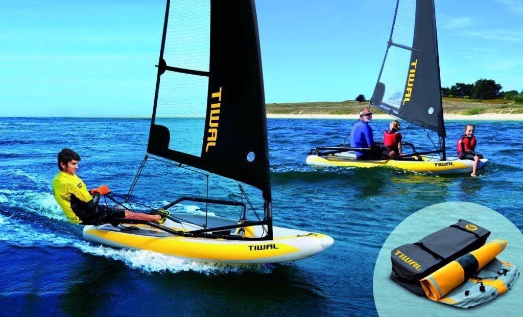 TIWAL – Inflatable sailing dinghy – Simple, safe and fast