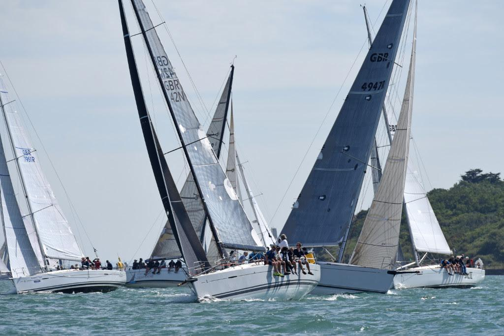 Cowes Dinard St Malo Race – Rambler 88 wins the King Edward VII Cup
