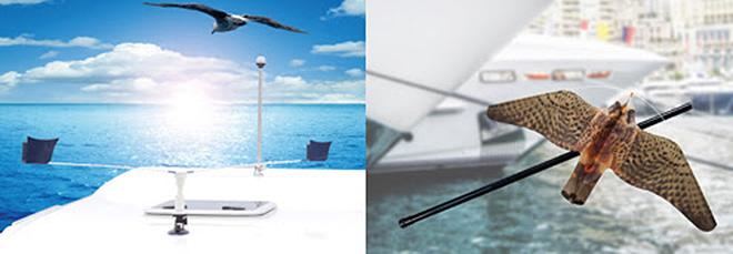StopGull® keeps gulls and shore birds off boats, yachts and