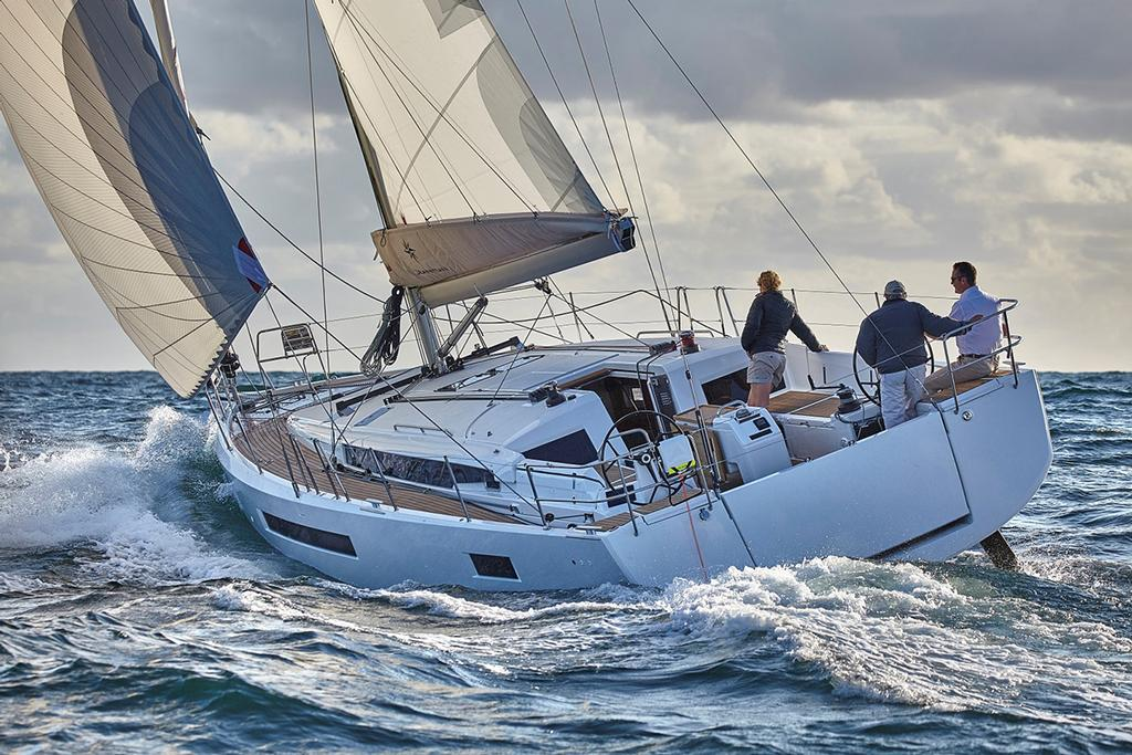 Jeanneau Sun Odyssey 490 - photo © 38 South Boat Sales