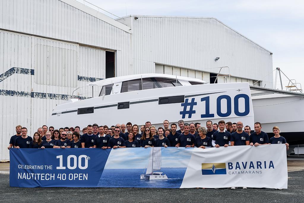 Nautitech 40 Open number 100 - photo © Bavaria Yachtbau