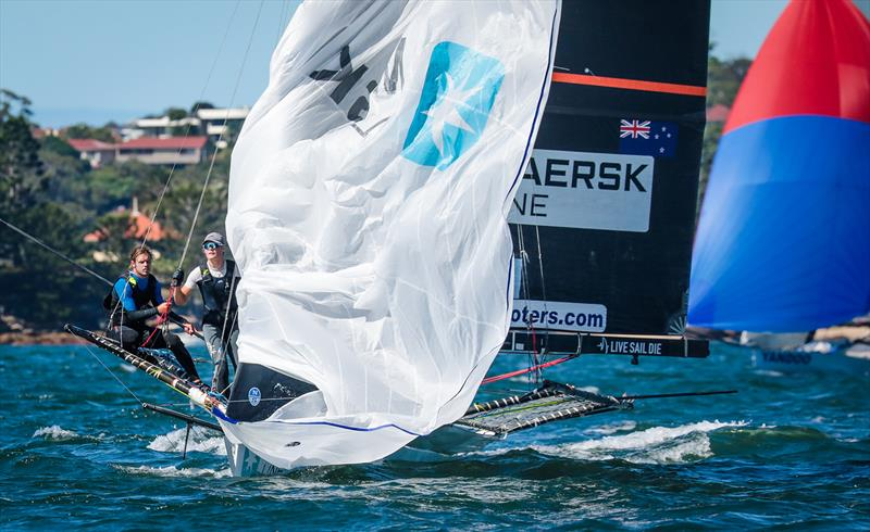 Maersk - Invitation Race - JJ Giltinan Trophy - March 13,2020 - Sydney Harbour - photo © Michael Chittenden