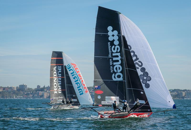 SMEG and Honda Marine  - JJ Giltinan 18ft Championships - March 2020 - Sydney Harbour - photo © Michael Chittenden