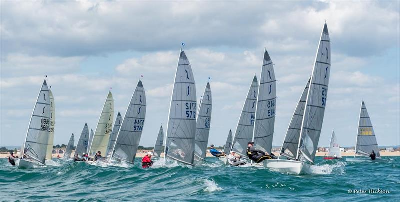 Solo Nigel Pusinelli Trophy at Hayling Island Sailing Club