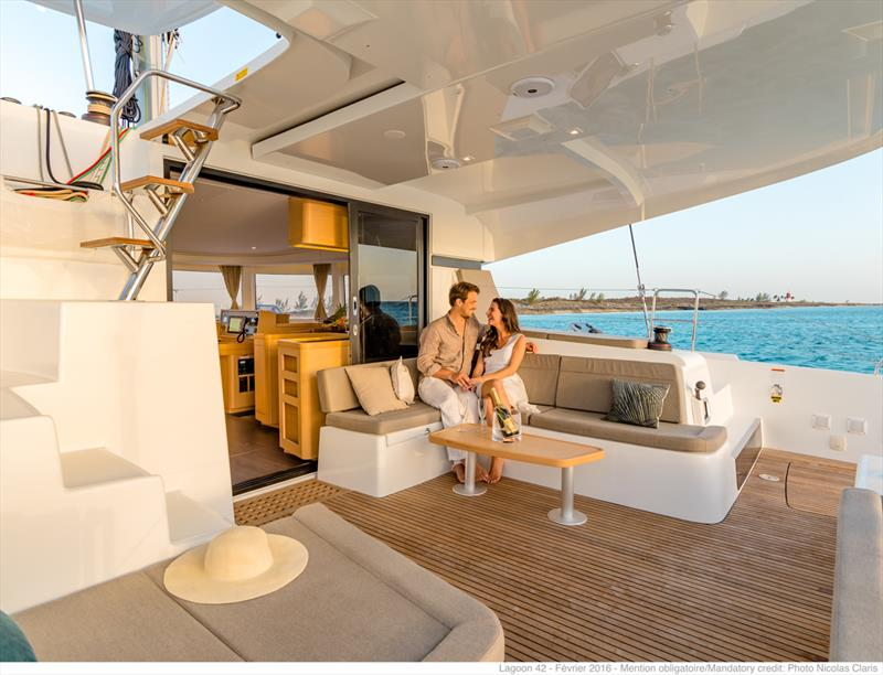 Sunsail complements its charter fleet with Lagoon catamarans - photo © Phototèque Lagoon / Nicolas Claris
