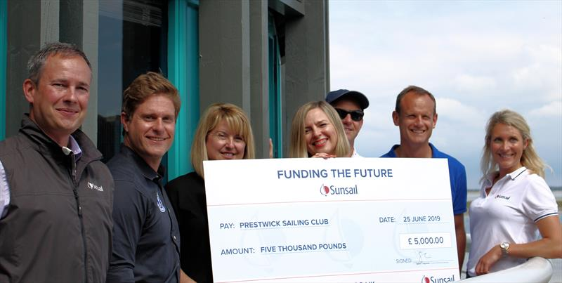 Sunsail Funding the Future winners - photo © Pippa Treavett
