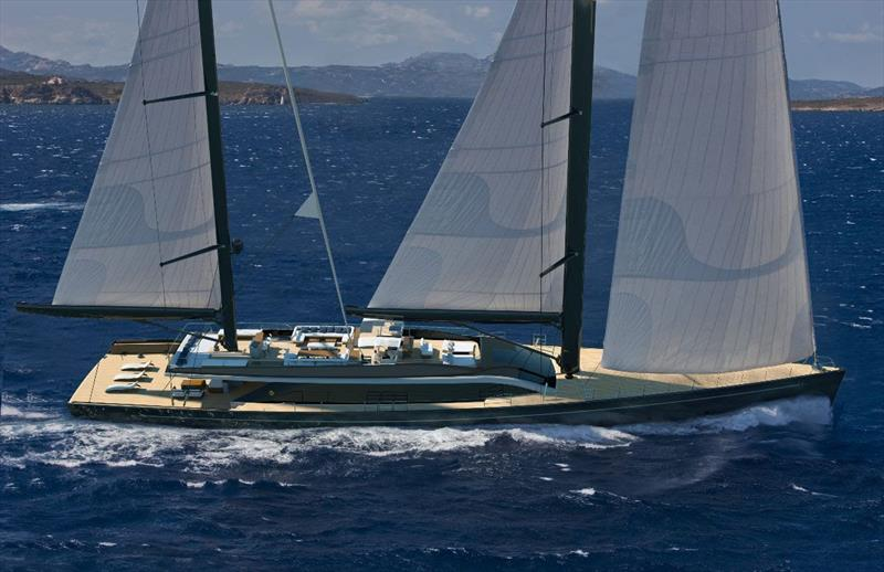 Perini Navi presents the new E-volution and Argonaut series to the U.S. market during the Palm Beach International Boat Show - photo © Perini Navi