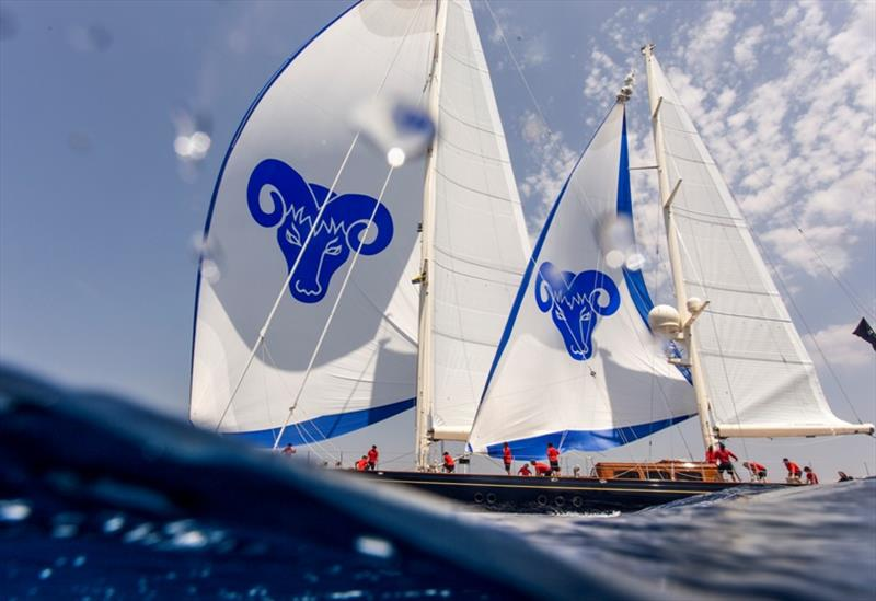Day 1 - 2019 Superyacht Cup Palma photo copyright Sailing Energy / The Superyacht Cup 2019 taken at Real Club Náutico de Palma and featuring the Superyacht class