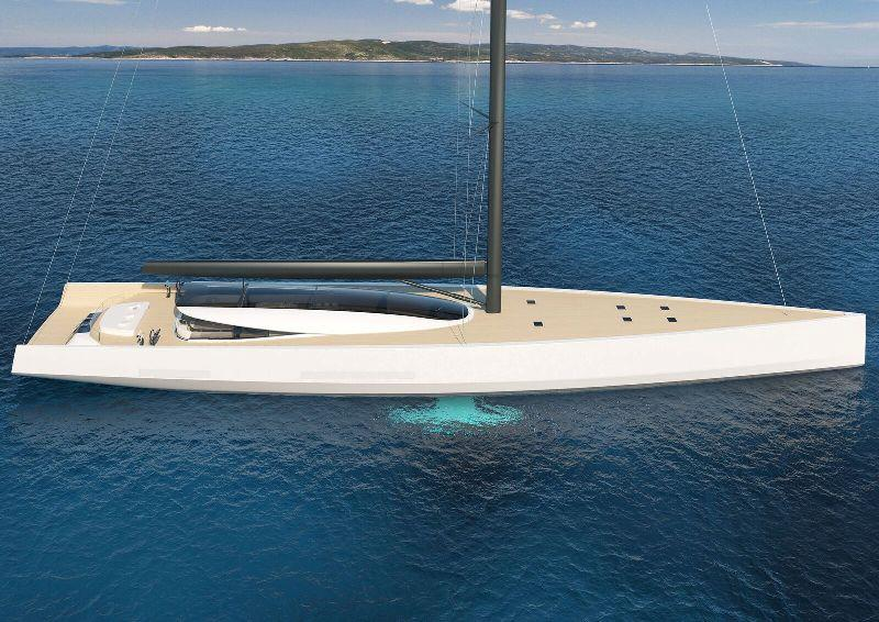 SY200 superyacht concept - photo © Philippe Briand