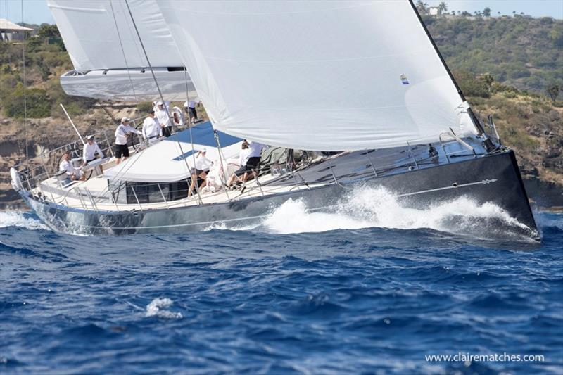 2020 Superyacht Challenge Antigua - Day 3 - photo © Claire Matches / www.clairematches.com