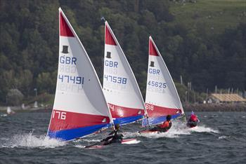 Zone Champs sailors relish big weekend breeze