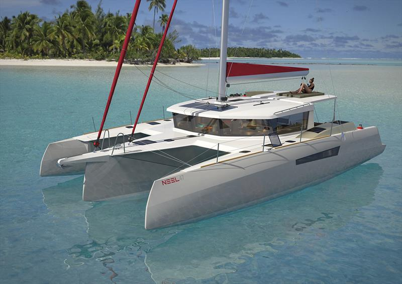 NEEL Trimarans has announced its latest model, the NEEL 47 - photo © Multihull Solutions