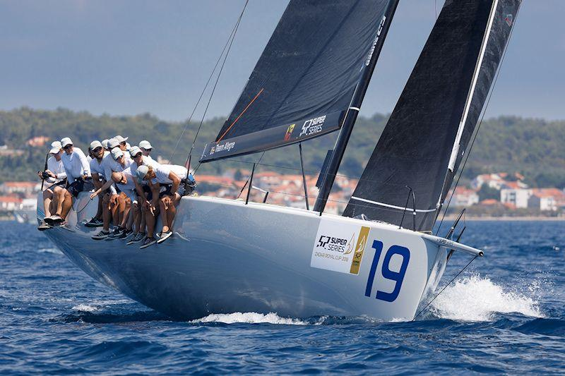 Morf Blocks are used on TP52 Algere - photo © Nico Martinez / 52 Super Series