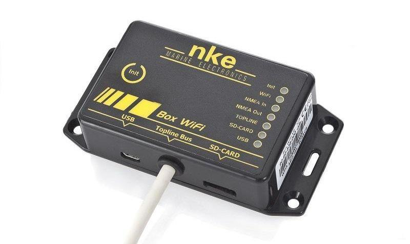 USB Datalog WiFi Box from nke - photo © nke Marine Electronics